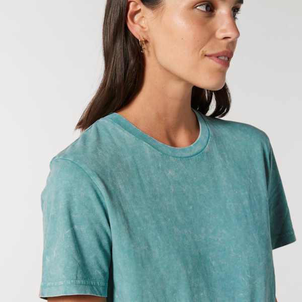 Stanley Stella Spring Summer 2021 Collection - Garment Aged Teal Monstera