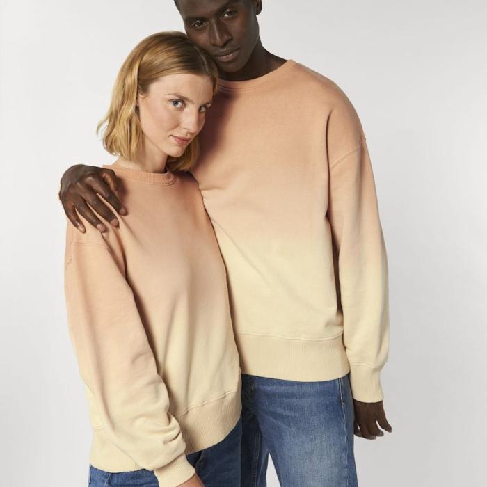 Stanley Stella Spring Summer 2021 Collection - Radder Dip Dye Sweatshirt