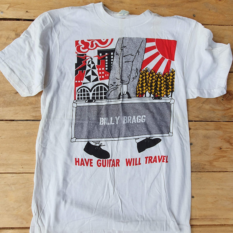 Printing T Shirts in the UK since 1977 Classic Punk Tees - Billy Bragg