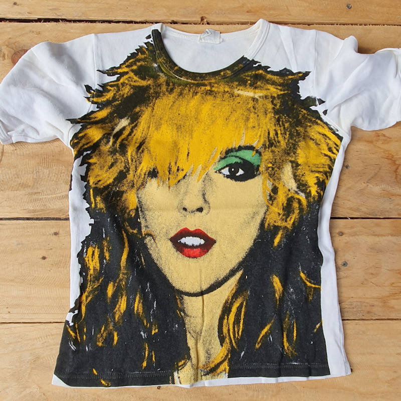 Printing T Shirts in the UK since 1977 Classic Punk Tees - Debbie Harry Blondie