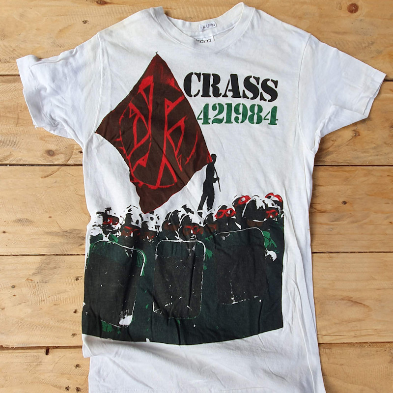 Printing T Shirts in the UK since 1977 Classic Punk Tees - Crass