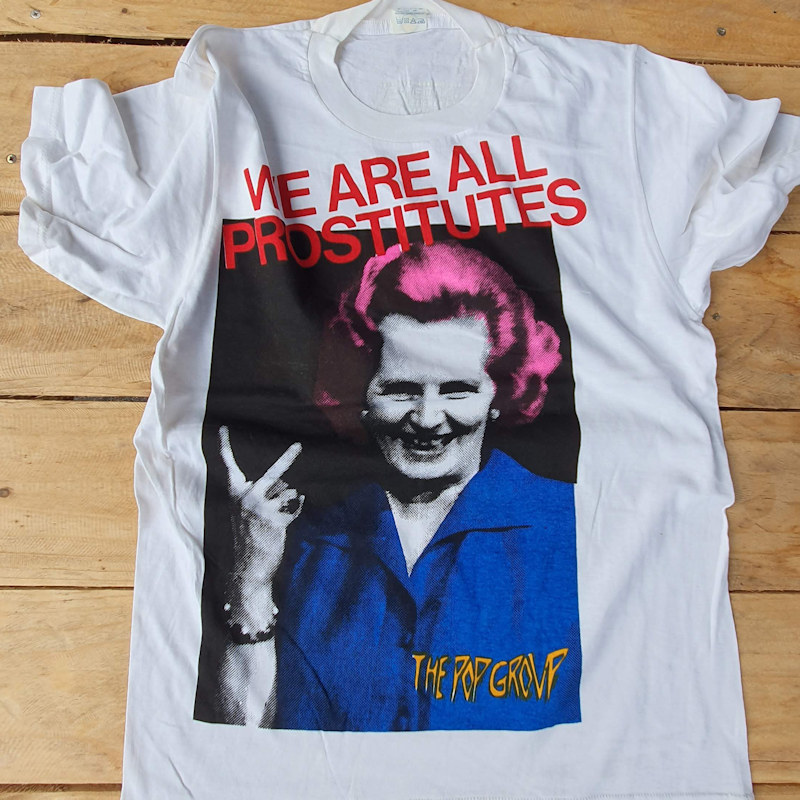 Printing T Shirts in the UK since 1977 Classic Punk Tees - The Pop Group
