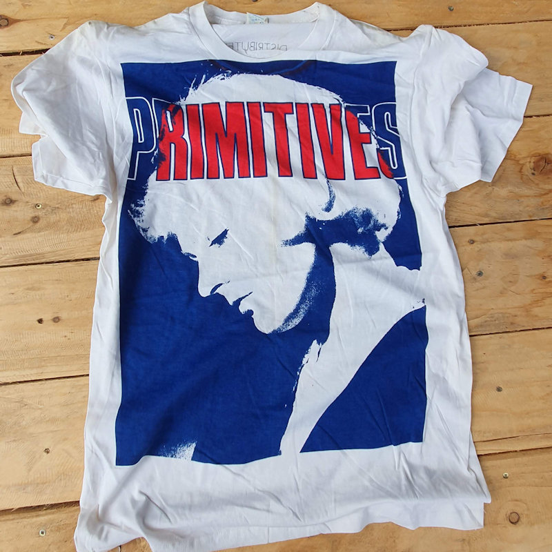 Printing T Shirts in the UK since 1977 Classic Punk Tees - The Primitives