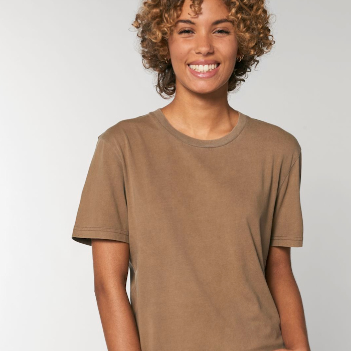 Colour Trends for Custom Printing in 2021 - Garment Dyed Caramel