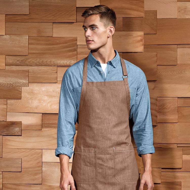Hot New Products for Hospitality - PR113 Denim Bib Apron