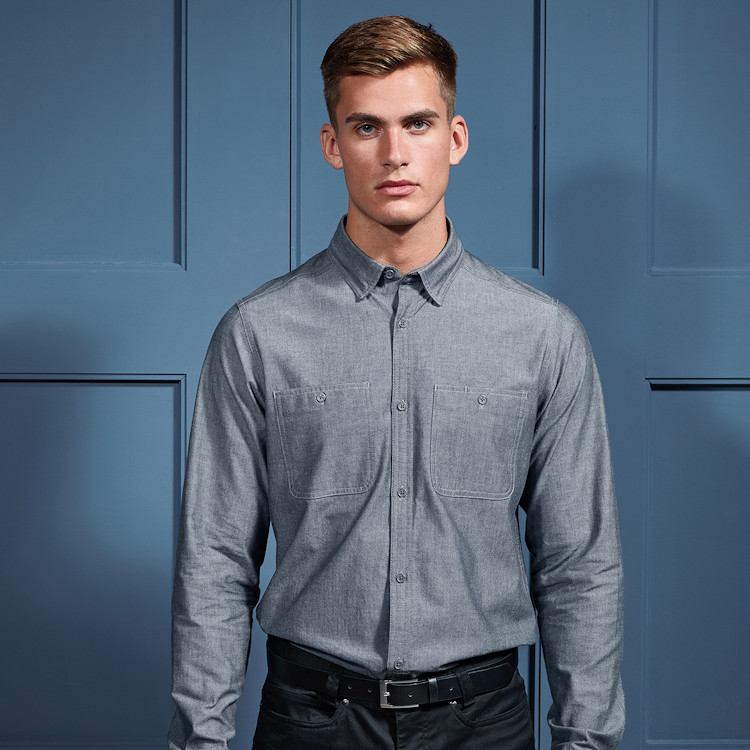 Hot New Products for Hospitality - PR247 Men's Chambray Shirt