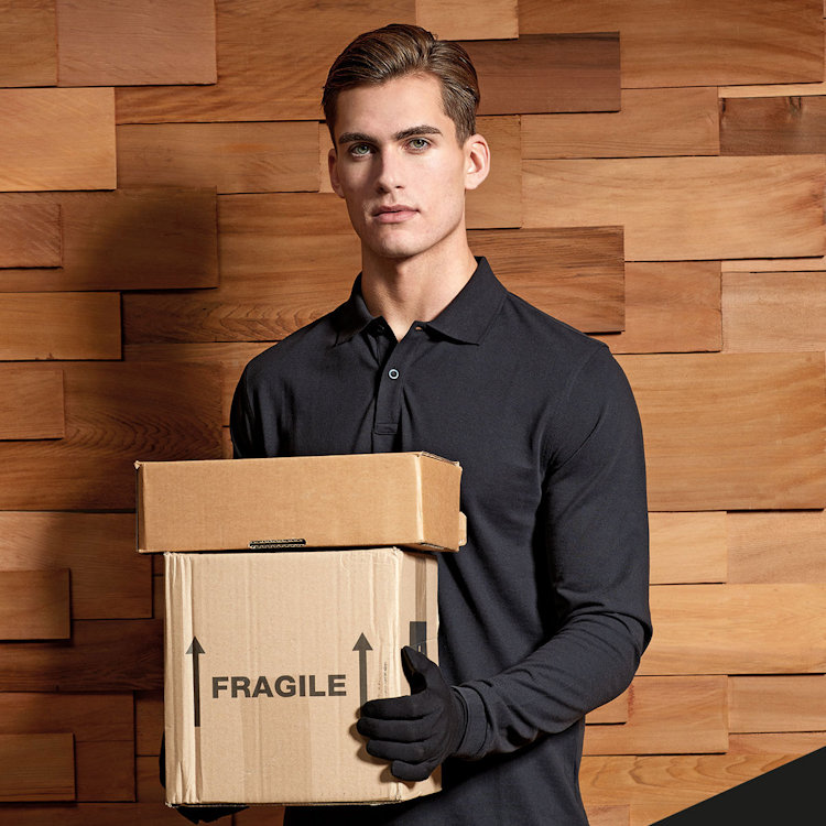 Hot New Products for Hospitality - PR997 Unisex LS Polo