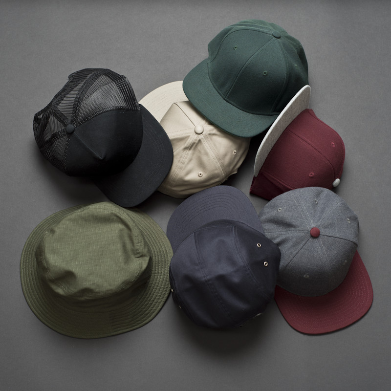 Caps and hats in the AS Colour blank merchandise supplier spotlight.