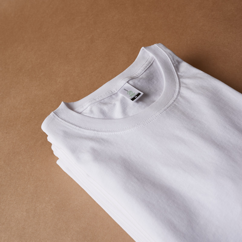 Organic t-shirts in the AS Colour blank merchandise supplier spotlight.