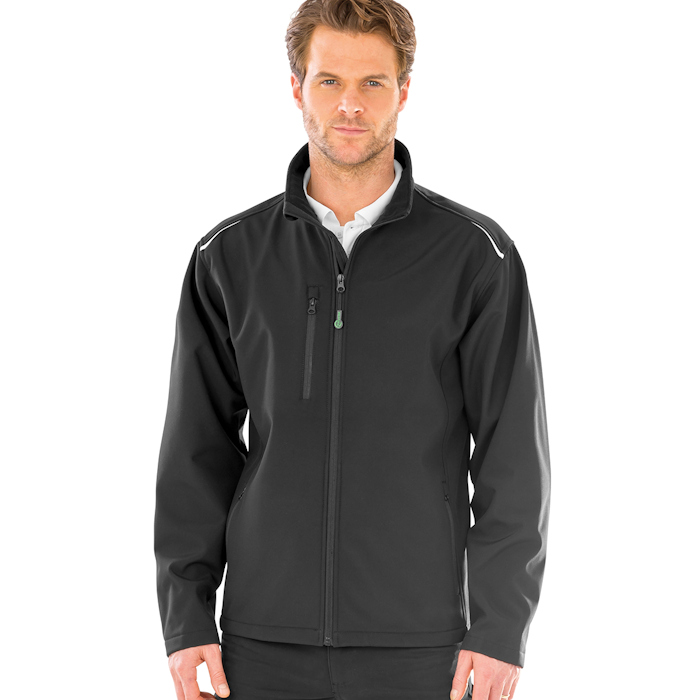 R900X recycled 3-layer jacket, part of the range of Result Genuine Recycled blank clothing.