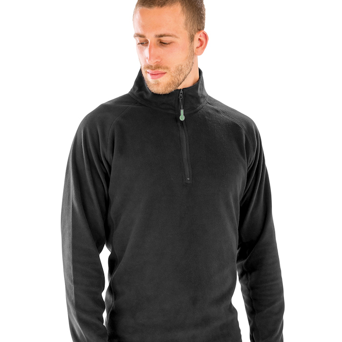 R905X recycled microfleece top, part of the range of Result Genuine Recycled blank clothing.