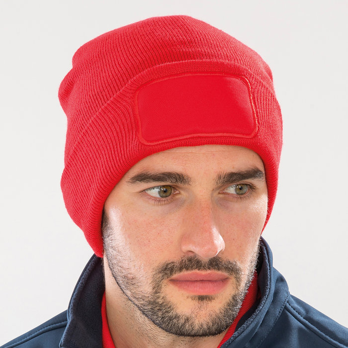 RC934 recycled Thinsulate™ beanie, part of the range of Result Genuine Recycled blank clothing.