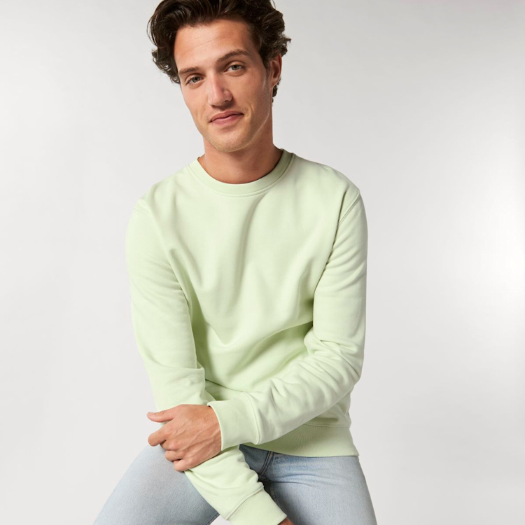 Feel and comfort in a review of the Stanley Stella Changer sweatshirt.