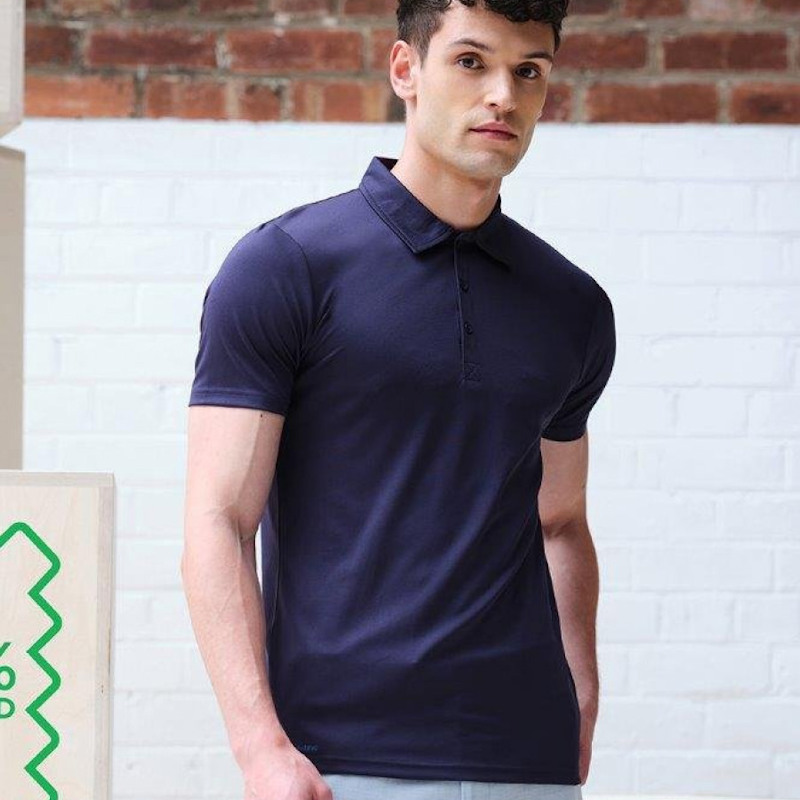 Image of a model in a Regatta Honestly Made TRS196 Regatta Honestly Made Polo.