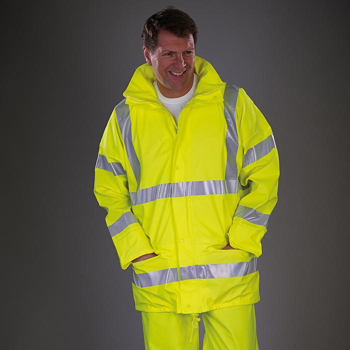 Customised Hi Vis Workwear - HVS450 Yoko Jacket.