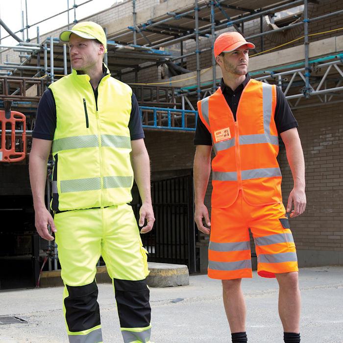 Customised Hi Vis Workwear - R202X Result Tabard.