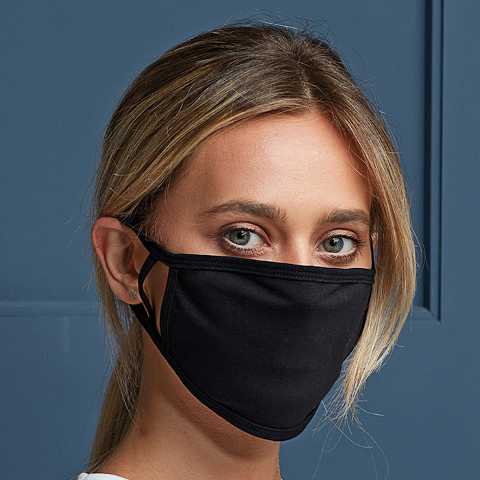 PR799 Premier Washable 2-Ply Mask for printing.