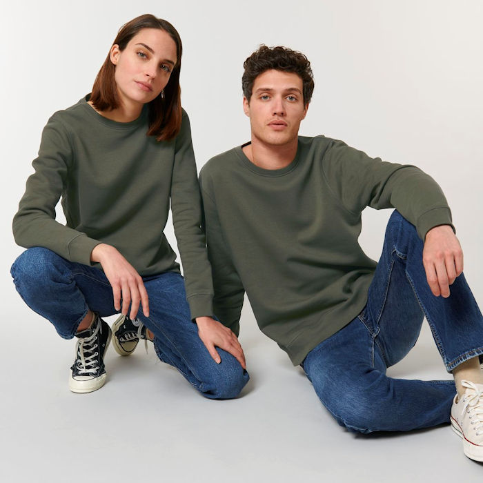 Roller Sweatshirt STSU868, launched in the Stanley Stella AW 2021 Collection.