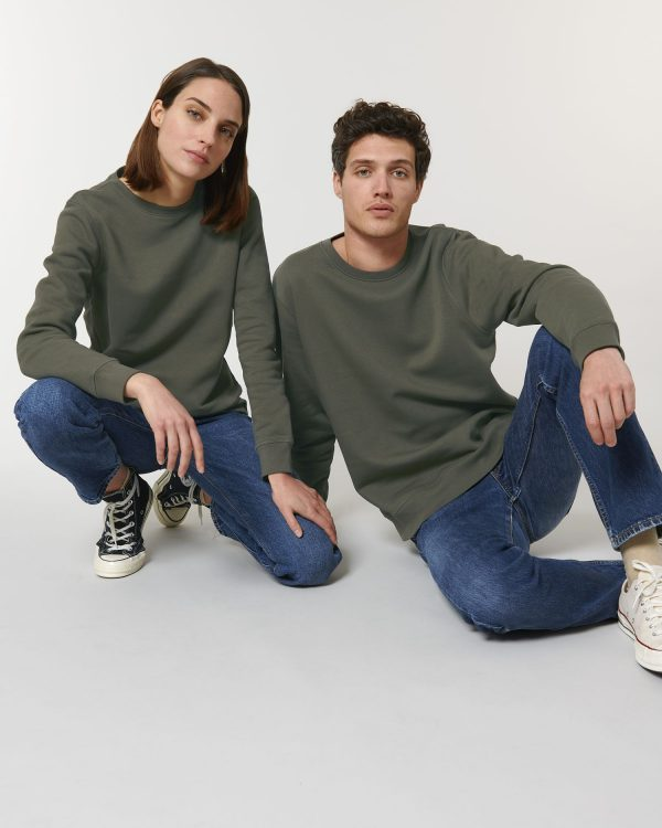 Stanley Stella Roller sweatshirt printing and embroidery at Fifth Column.