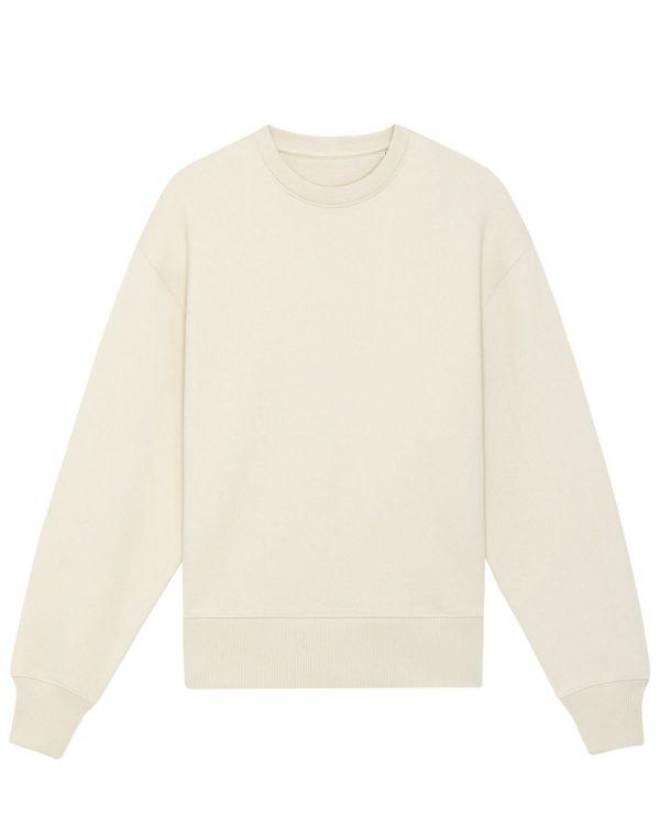Radder Heavy natural raw cream sweatshirts.