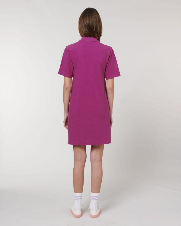 Stella Paiger orchid flower pink dresses for rebranding.