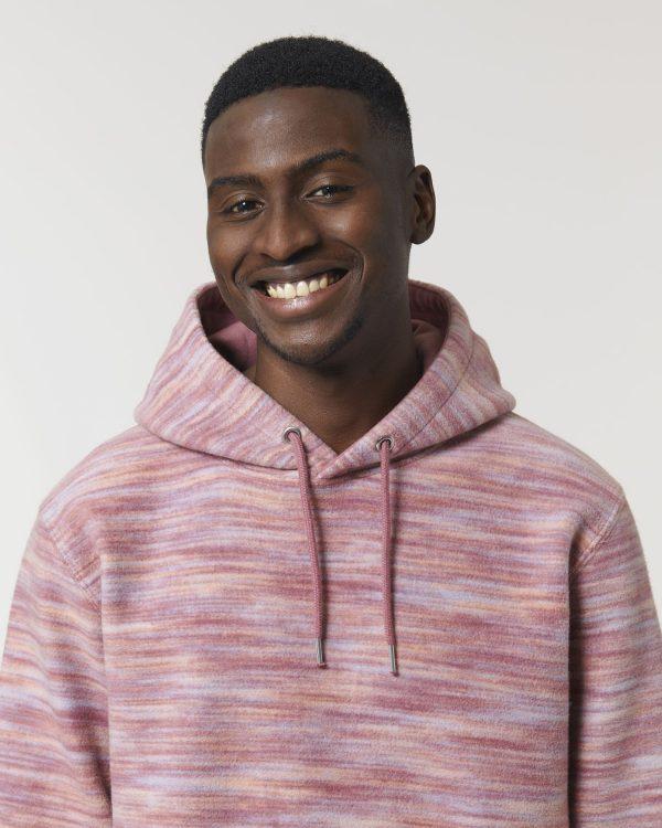 Stanley Stella Cruiser Space Dye pullover hoodie.