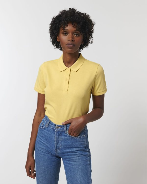 Stanley Stella Elliser polo shirt printing and embroidery by Fifth Column.